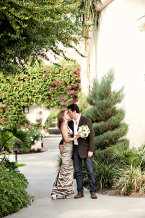 second wedding ideas California Desert Fault Line Wedding