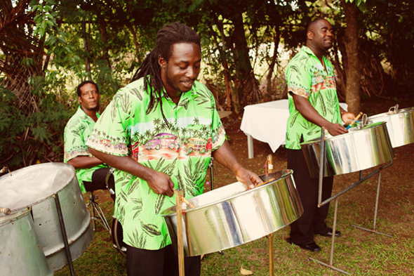 st lucia steel drum band