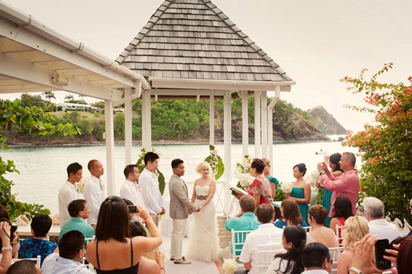 The Best Destination Wedding Locations In The Caribbean: Destination Wedding In St. Lucia