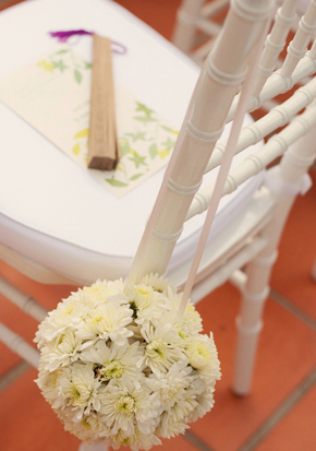 yellow and white weddings