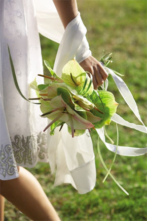 beach wedding bouquet Tropical Bridal Bouquets
