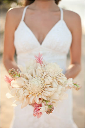 beach wedding bouquets Tropical Bridal Bouquets