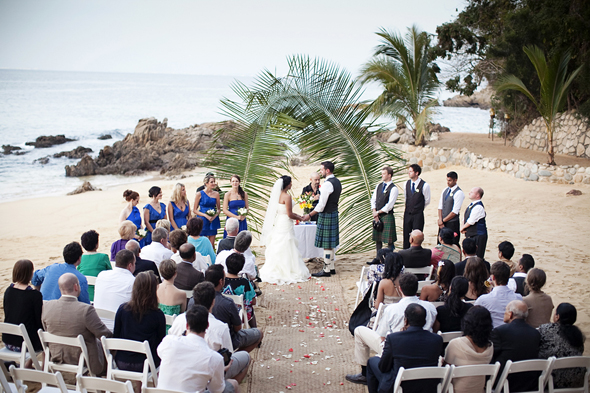 Destination Wedding At Las Caletas In Jalisco, Mexico