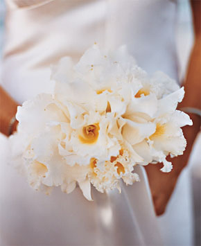 beach weddings bouquet
