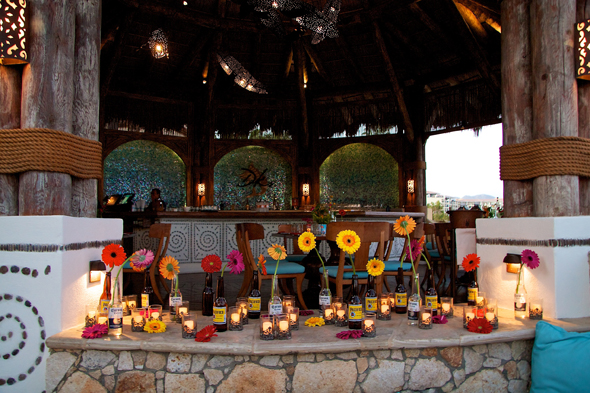 Vintage Mexico Inspired Party In Cabo San Lucas