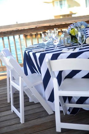blue and white weddings Key West, Florida Destination Wedding