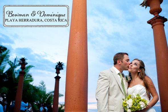 costa rica destination wedding2 Costa Rica Destination Wedding at Zephyr Palace