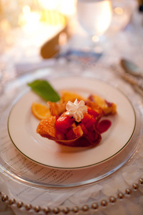 destination wedding menu ideas Costa Rica Destination Wedding at Zephyr Palace