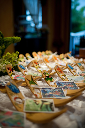 destination wedding place cards Costa Rica Destination Wedding at Zephyr Palace