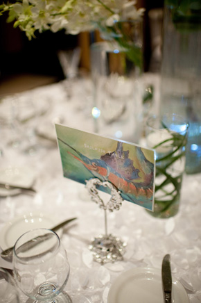 destination wedding table names