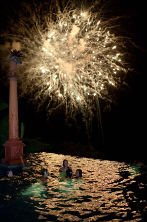 fireworks in costa rica Costa Rica Destination Wedding at Zephyr Palace
