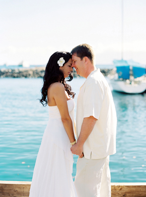 hawaii destination weddings Maui, Hawaii Destination Wedding on a Boat