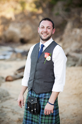 scottish groom attire