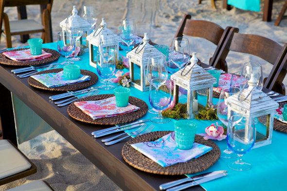 Beach Wedding Reception in Cabo San Lucas | The Destination