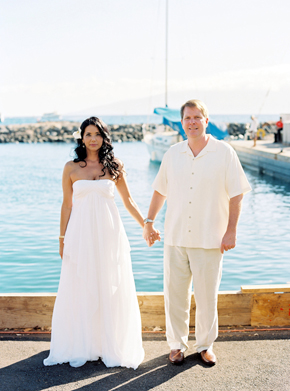maui destination wedding Maui, Hawaii Destination Wedding on a Boat