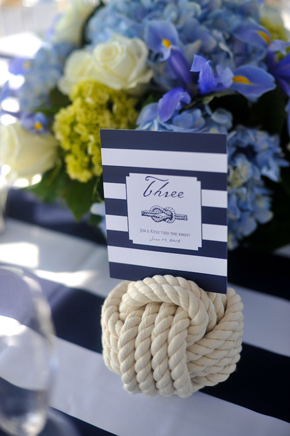 nautical table names Key West, Florida Destination Wedding