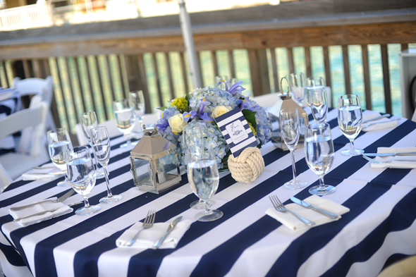 striped wedding ideas Key West, Florida Destination Wedding