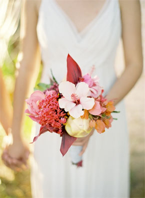tropical bridal bouquet Tropical Bridal Bouquets