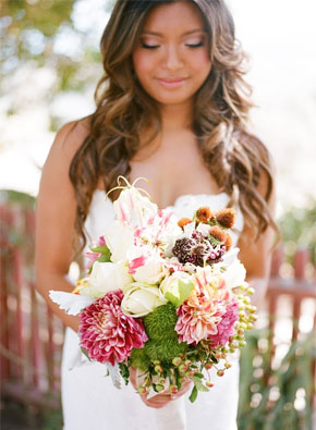 tropical bridal bouquets