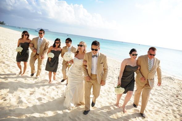 Aaron Rebarchek grand cayman wedding
