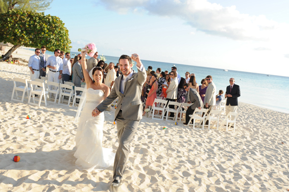seven mile beach wedding