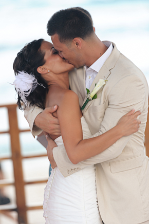 beach weddings Destiation Wedding in Puerto Morelos, Mexico