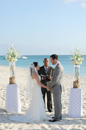 beach weddings1 Seven Mile Beach, Grand Cayman Destination Wedding