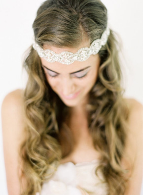 bridal headpieces Emily Riggs Bridal