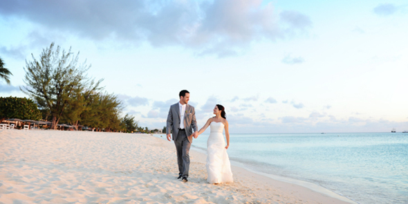 caribbean club grand cayman wedding Seven Mile Beach, Grand Cayman Destination Wedding