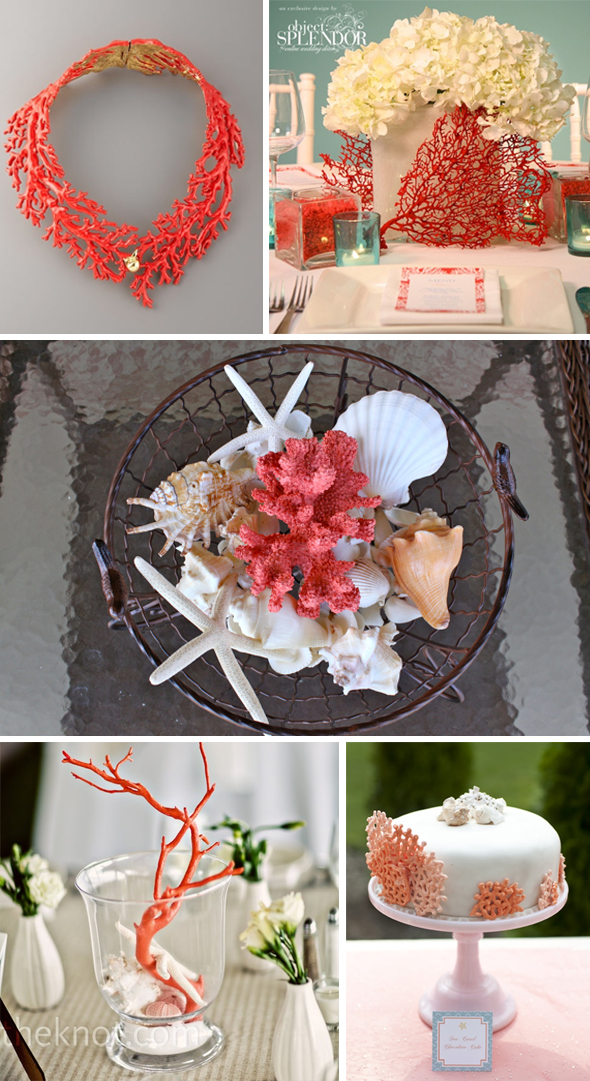 Coral Wedding Decor The Destination Wedding Blog Jet Fete By