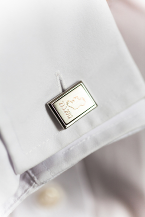 custom wedding cufflinks Wicklow, Ireland Destination Wedding