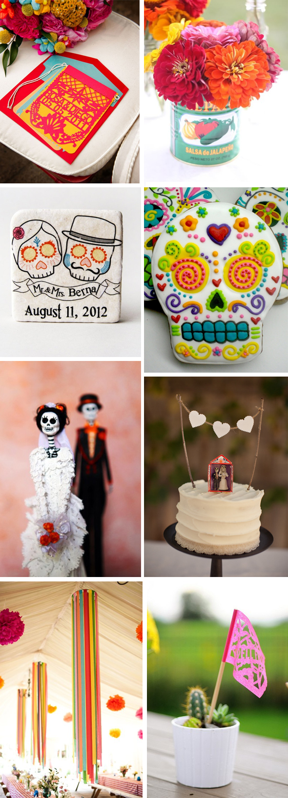 day of the dead weddings