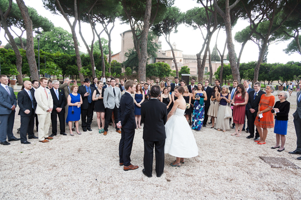 destination wedding in rome italy