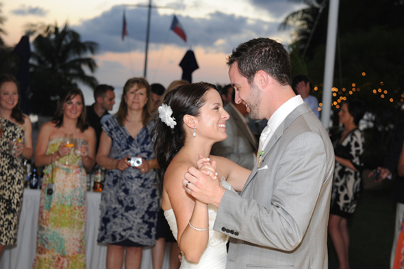 first dance photos Seven Mile Beach, Grand Cayman Destination Wedding