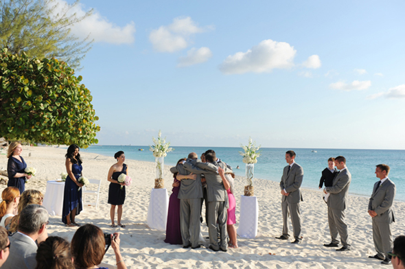 grand cayman beach wedding Seven Mile Beach, Grand Cayman Destination Wedding