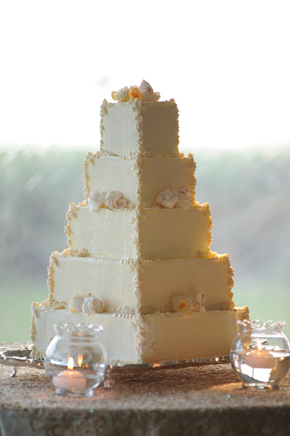 grand cayman wedding cake