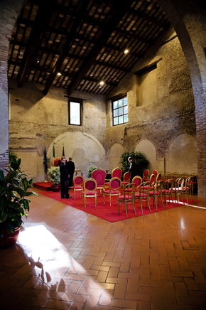 historic wedding venues in rome