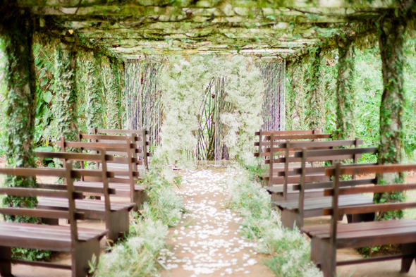 ivy and babys breath wedding Bellefield Great House, Montego Bay, Jamaica Wedding Inspiration