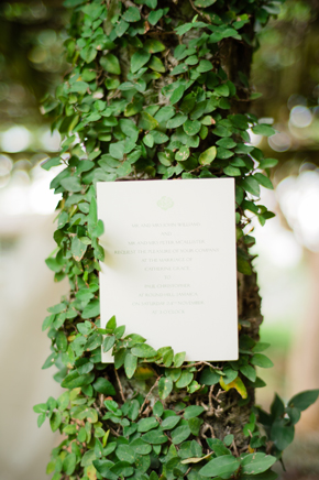 jamaica destination wedding program Bellefield Great House, Montego Bay, Jamaica Wedding Inspiration