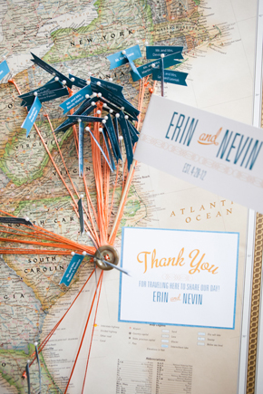 map place cards Map Inspired Destination Wedding Re Run