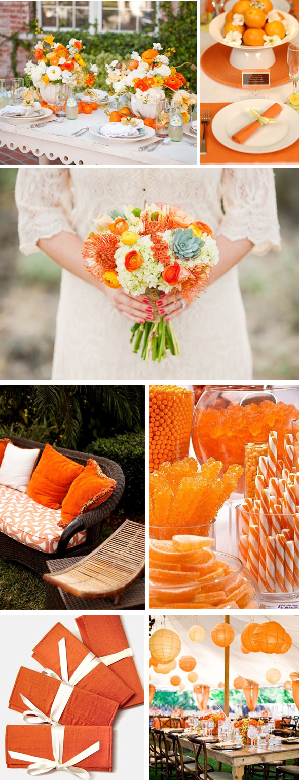 orange weddings Orange Weddings