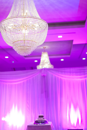 purple wedding lighting Wicklow, Ireland Destination Wedding