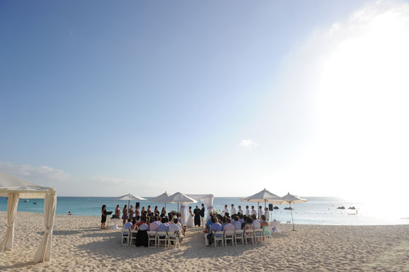 wedding at the ritz carlton grand cayman