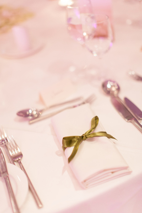 wedding napkin treatments Wicklow, Ireland Destination Wedding