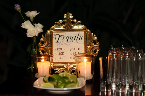 wedding tequila tasting