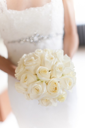 white bridal bouquet Wicklow, Ireland Destination Wedding