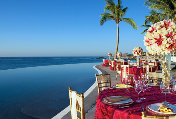 Secrets Marquis Cabo Reception Love at First Site Weddings