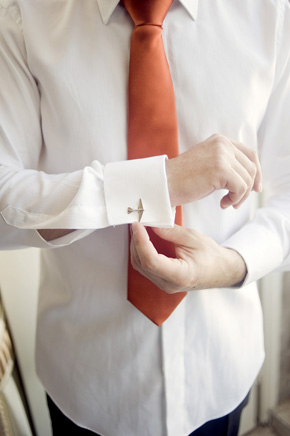 airplane cufflinks Destination Wedding in Sintra, Portugal