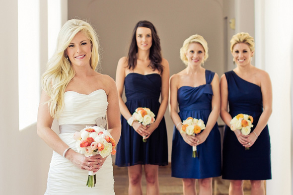 blue bridesmaid dresses Cabo Azul Resort Destination Wedding in Mexico