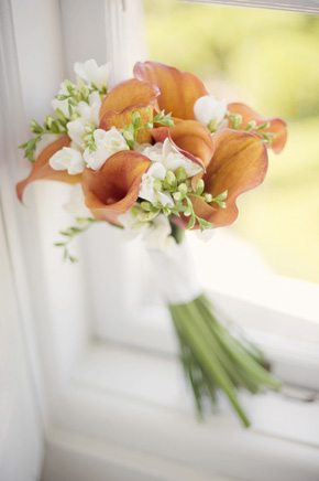 calla lily bouquet Destination Wedding in Sintra, Portugal